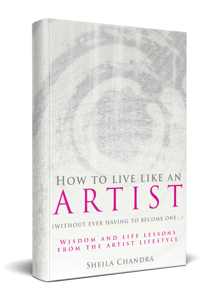 Sheila Chandra - How To Live Like An Artist Book Cover